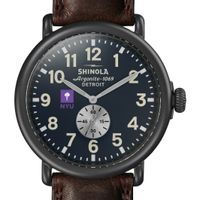 NYU Shinola Watch, The Runwell 47mm Midnight Blue Dial