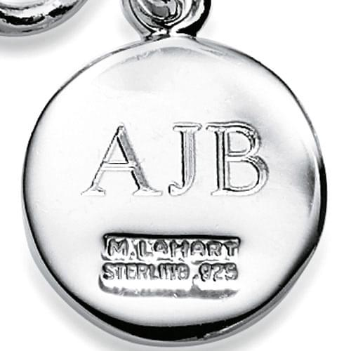 James Madison Sterling Silver Insignia Key Ring - Image 3