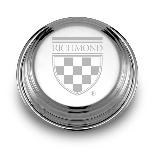 University of Richmond Pewter Paperweight