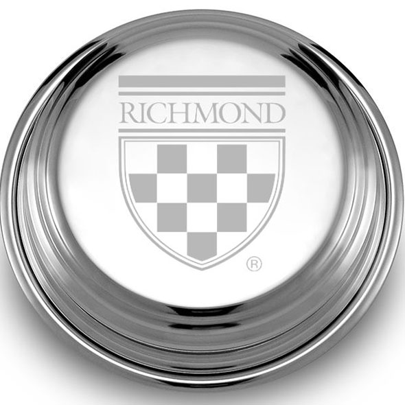 University of Richmond Pewter Paperweight - Image 2