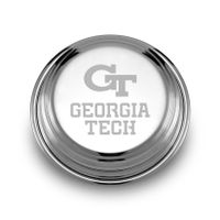 Georgia Tech Pewter Paperweight