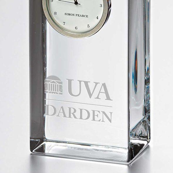 UVA Darden Tall Glass Desk Clock by Simon Pearce - Image 2