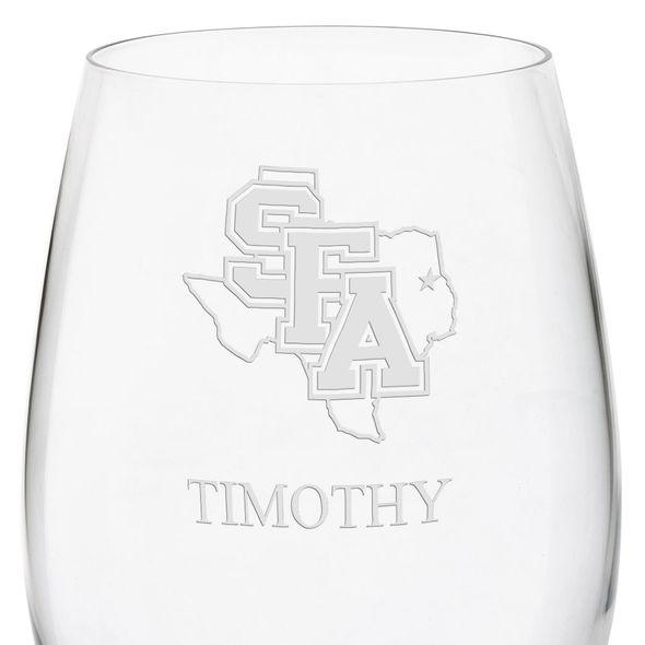SFASU Red Wine Glasses - Set of 4 - Image 3