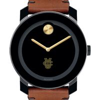 UC Irvine Men's Movado BOLD with Brown Leather Strap