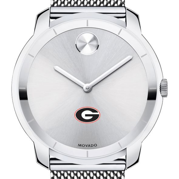 University of Georgia Men's Movado Stainless Bold 44 - Image 1