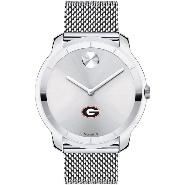 University of Georgia Men's Movado Stainless Bold 44 - Image 2