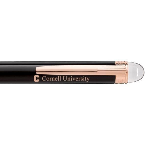 Cornell University Montblanc StarWalker Ballpoint Pen in Red Gold - Image 2
