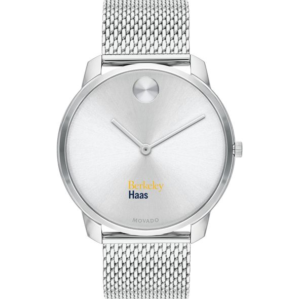 Haas School of Business Men's Movado Stainless Bold 42 - Image 2