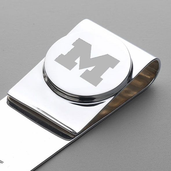 Michigan Sterling Silver Money Clip - Image 2