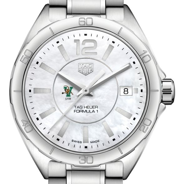 University of Vermont Women's TAG Heuer Formula 1 with MOP Dial
