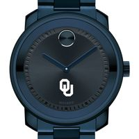 University of Oklahoma Men's Movado BOLD Blue Ion with Bracelet