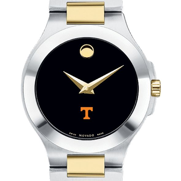 Tennessee Women's Movado Collection Two-Tone Watch with Black Dial - Image 1