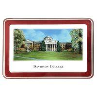 Davidson College Eglomise Paperweight