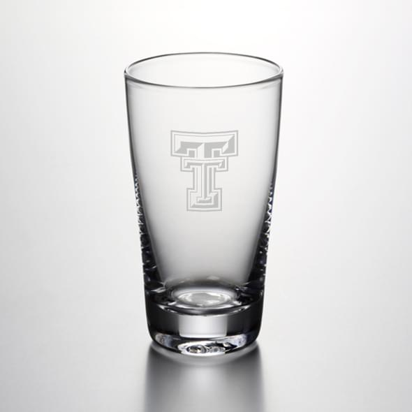 Texas Tech Ascutney Pint Glass by Simon Pearce