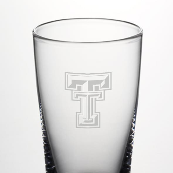 Texas Tech Ascutney Pint Glass by Simon Pearce - Image 2