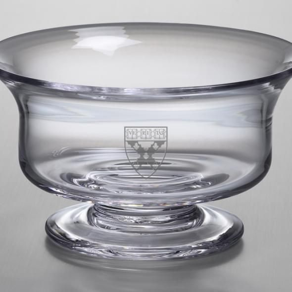Harvard Business School Medium Glass Revere Bowl by Simon Pearce - Image 2