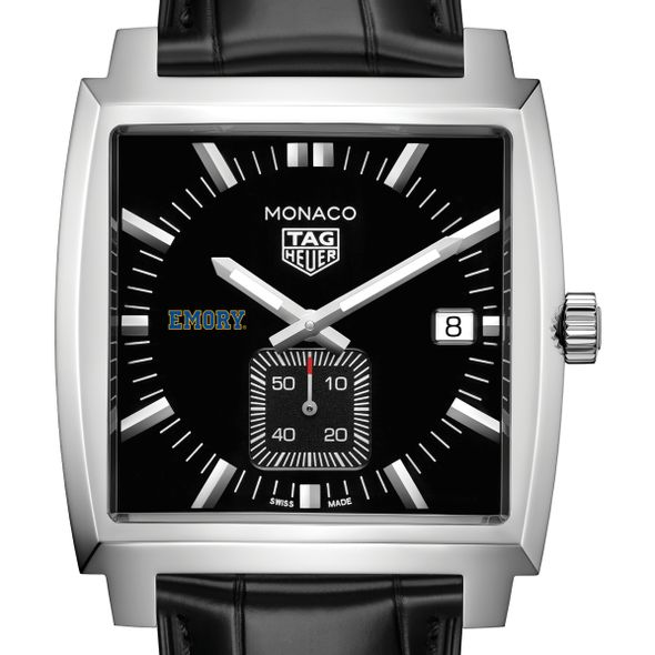 Emory University TAG Heuer Monaco with Quartz Movement for Men - Image 1