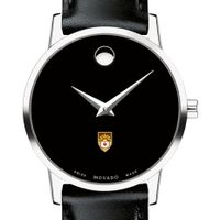 Lehigh University Women's Movado Museum with Leather Strap