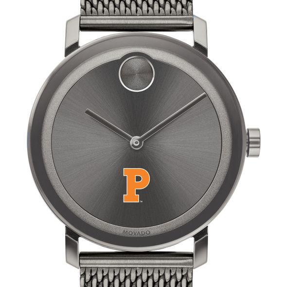 Princeton University Men's Movado BOLD Gunmetal Grey with Mesh Bracelet