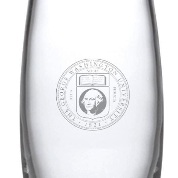 George Washington Glass Addison Vase by Simon Pearce - Image 2