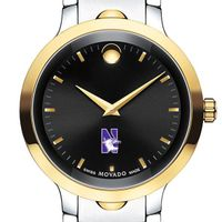 Northwestern Men's Movado Luno Sport Two-Tone