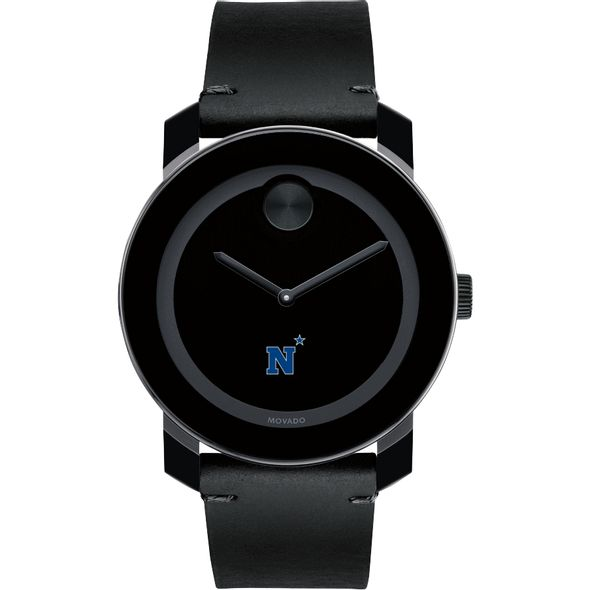 US Naval Academy Men's Movado BOLD with Leather Strap - Image 2
