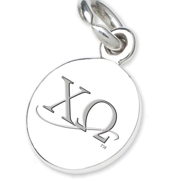 Chi Omega Sterling Silver Charm - Image 2