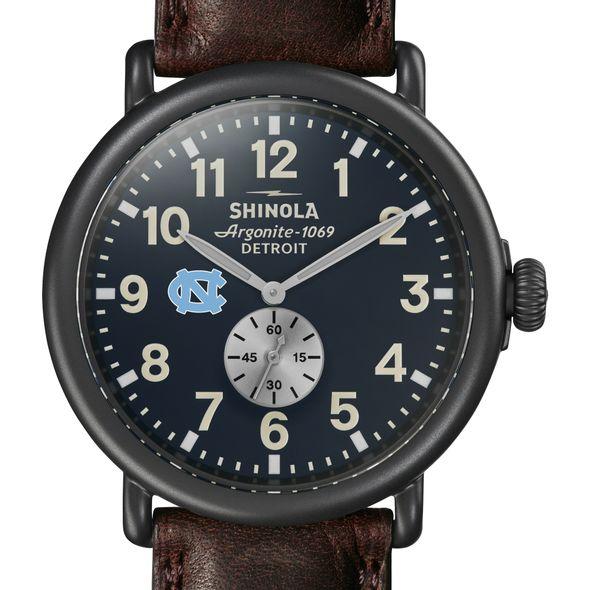 UNC Shinola Watch, The Runwell 47mm Midnight Blue Dial