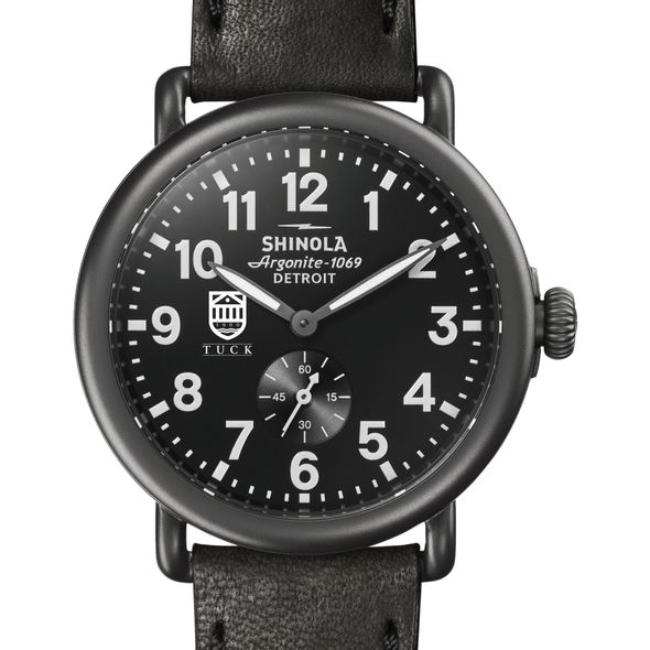 Tuck Shinola Watch, The Runwell 41mm Black Dial