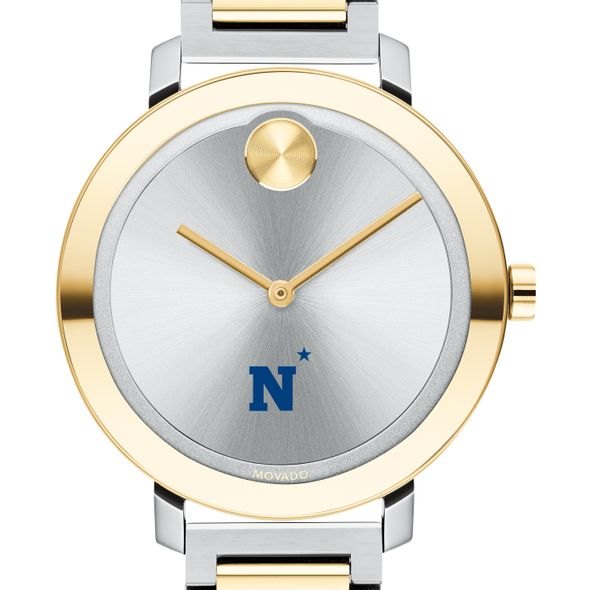 US Naval Academy Women's Movado Two-Tone Bold 34