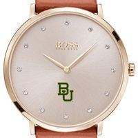 Baylor University Women's BOSS Champagne with Leather from M.LaHart