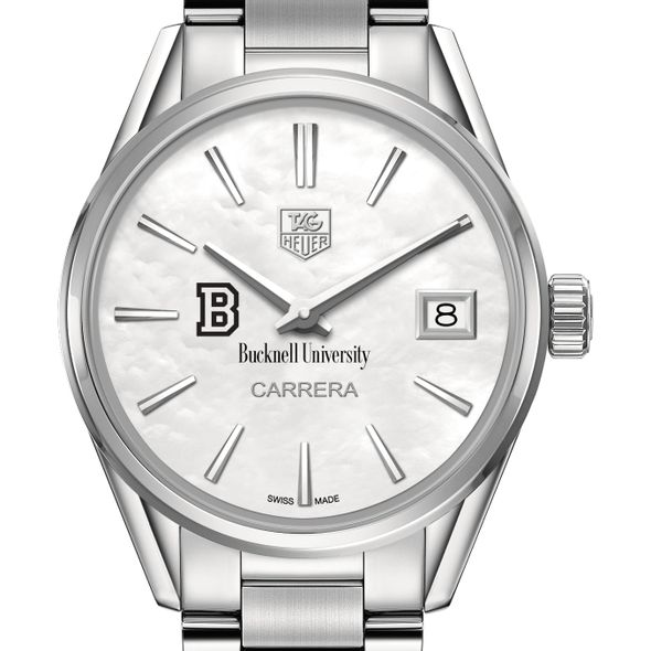 Bucknell University Women's TAG Heuer Steel Carrera with MOP Dial