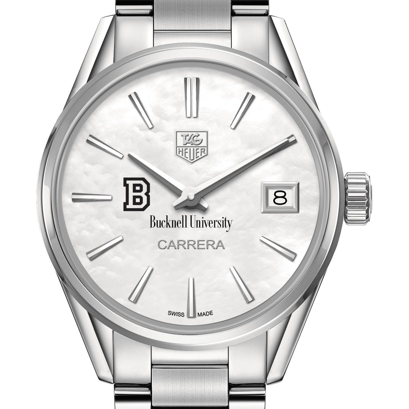 Bucknell Women's TAG Heuer Steel Carrera with MOP Dial