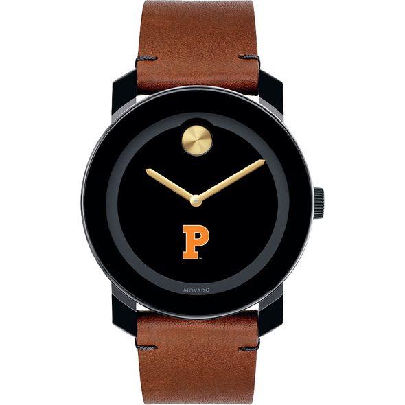 Princeton University Men's Movado BOLD with Brown Leather Strap - Image 2