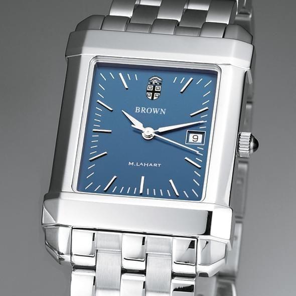 Brown Men's Blue Quad Watch with Bracelet