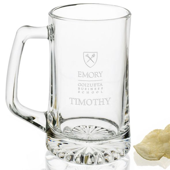 Emory Goizueta 25 oz Beer Mug - Image 2