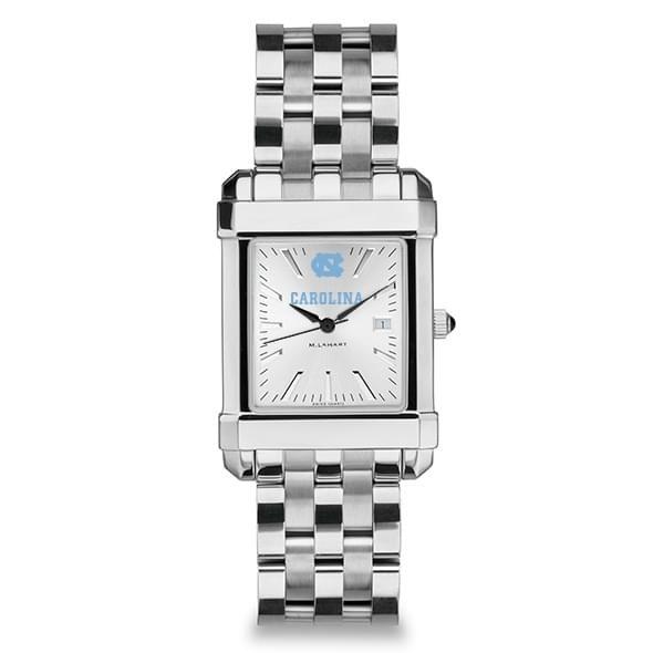 North Carolina Men's Collegiate Watch w/ Bracelet - Image 2