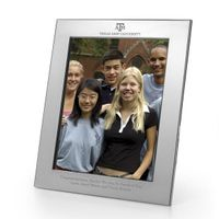 Texas A&M Polished Pewter 8x10 Picture Frame