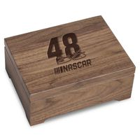 Jimmie Johnson Solid Walnut Collector's Box
