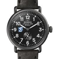 Creighton Shinola Watch, The Runwell 41mm Black Dial
