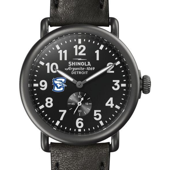 Creighton Shinola Watch, The Runwell 41mm Black Dial