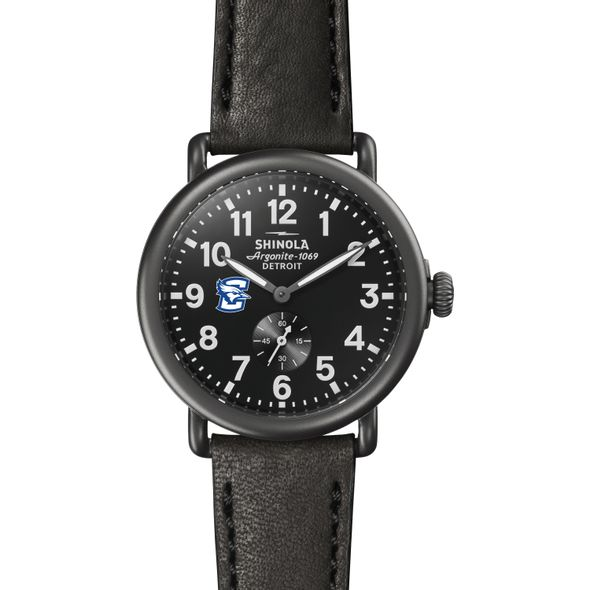 Creighton Shinola Watch, The Runwell 41mm Black Dial - Image 2