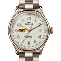 VCU Shinola Watch, The Vinton 38mm Ivory Dial