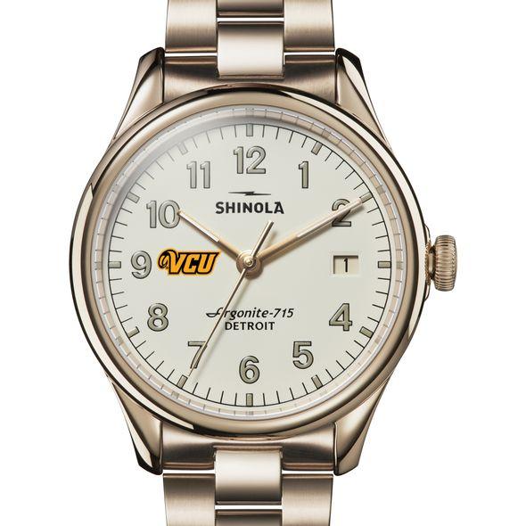 VCU Shinola Watch, The Vinton 38mm Ivory Dial - Image 1