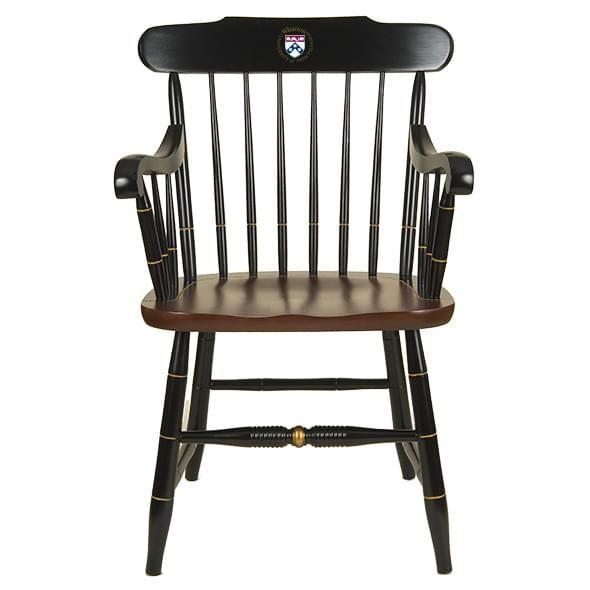 Wharton Captain's Chair by Hitchcock