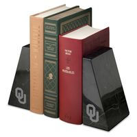 Oklahoma Marble Bookends by M.LaHart