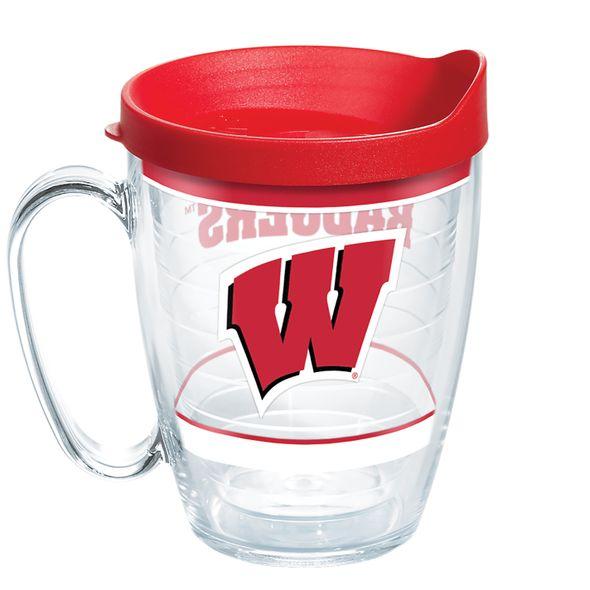 Wisconsin 16 oz. Tervis Mugs- Set of 4 - Image 2