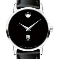Tuck Women's Movado Museum with Leather Strap