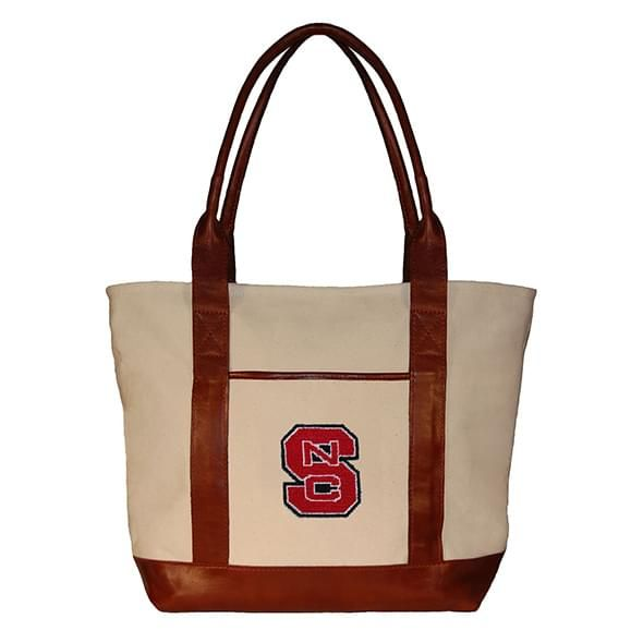 NC State Needlepoint Tote