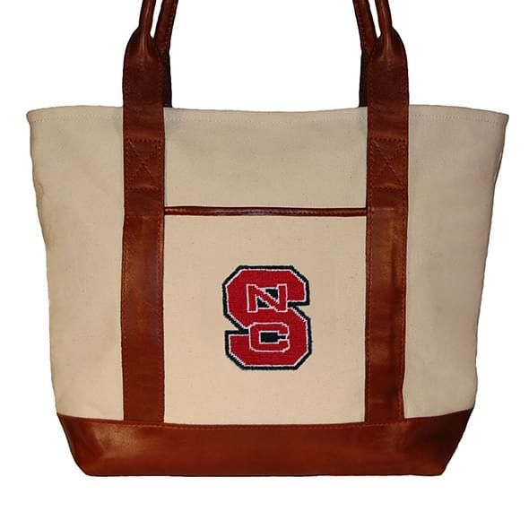NC State Needlepoint Tote - Image 2